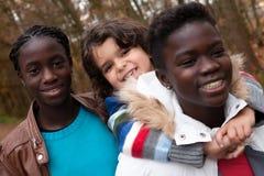 Mes soeurs d'adoption Images libres de droits