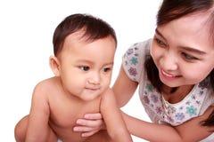 Mes soins de mère pour moi photo libre de droits