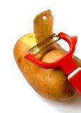 Mes voor groente Stock Foto