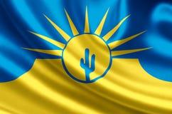 Mesa亚利桑那旗子例证 皇族释放例证