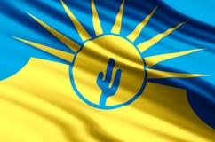 Mesa亚利桑那旗子例证 向量例证