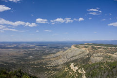 mesa国家公园verde 库存照片