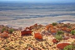 mesa岩石 免版税库存图片