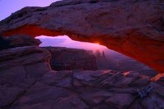 Mesa曲拱 库存图片