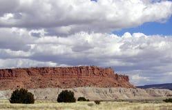 mesa红色 库存图片
