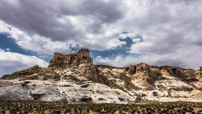 Mesa στην έρημο, Αριζόνα, ΗΠΑ Στοκ Φωτογραφίες