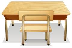 mesa ilustração stock
