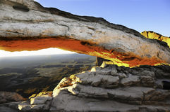 Mesa Arch Stock Image
