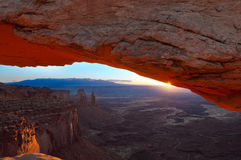 Mesa Arch Stock Image