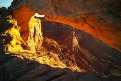Mesa Arch Stock Photo
