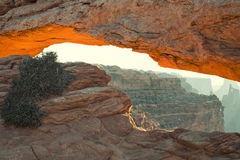 Mesa Arch Royalty Free Stock Photo