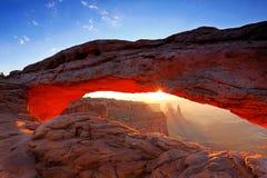 Mesa Arch Image stock
