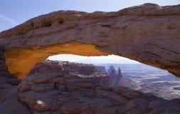 Mesa Arch Arkivfoto