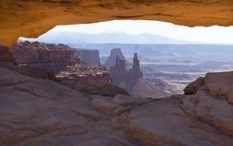 Mesa Arch Royaltyfria Bilder