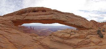Mesa arch Royalty Free Stock Photography