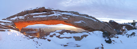 Mesa Arch royalty free stock photos