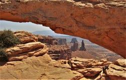 Mesa Arch immagini stock libere da diritti