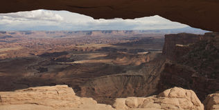 Mesa arch Canyonlands Stock Image