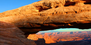Mesa Arch in Canyonlands Royalty Free Stock Photos