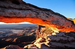 Mesa Arch, Canyonlands National Park Stock Images