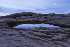 Mesa Arch in Canyonlands National Park near Moab, Utah Royalty Free Stock Photos