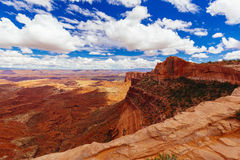 Mesa Arch, Canyonlands National Park near Moab, Utah, USA Royalty Free Stock Image