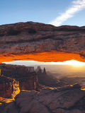 Mesa Arch in Canyonlands National Park, Utah Stock Image