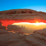 Mesa Arch Cnyonlands Royalty Free Stock Photos