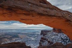 Mesa Arch en Utah Foto de archivo libre de regalías