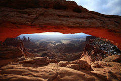 Mesa arch, National Park Stock Photography