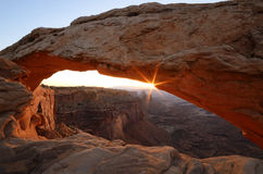 Mesa Arch at Sunrise Stock Photography