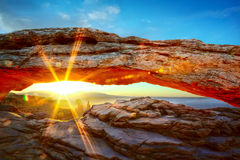 Mesa Arch Royalty Free Stock Photo