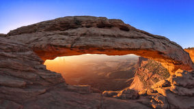 Mesa Arch Sunrise Royalty Free Stock Photography