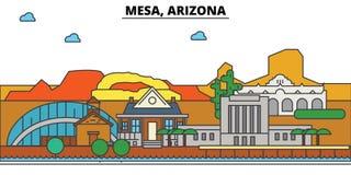 Mesa, Arizona. City skyline architecture  Stock Photo