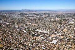 Mesa Arizona horisont Fotografering för Bildbyråer