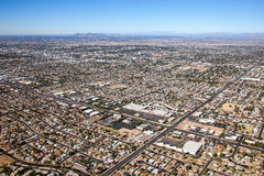 Mesa, Arizona Skyline Stock Image