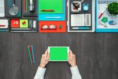 Mesa creativa del negocio Fotos de archivo