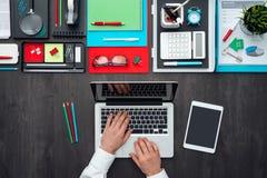 Mesa creativa del negocio Imagen de archivo