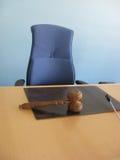 A mesa da corte Fotografia de Stock