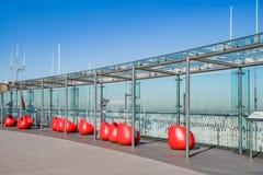 Mesa da observação da excursão Montparnasse imagem de stock