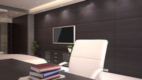 Mesa da sala de hotel Fotografia de Stock Royalty Free