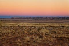 Mesa de Arizona en la oscuridad fotografía de archivo libre de regalías
