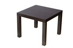Mesa de Brown isolada no branco Fotos de Stock