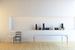 Mesa de comedor Foto de archivo