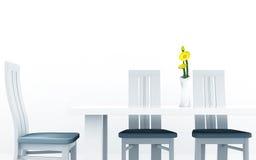 Mesa de comedor Imagen de archivo
