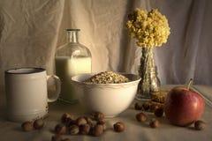 Mesa de desayuno Foto de archivo libre de regalías