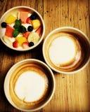 Mesa de desayuno Imagen de archivo