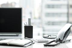 Mesa de escritório Imagem de Stock Royalty Free