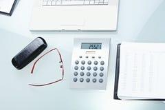 Mesa de escritório Fotografia de Stock