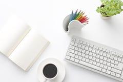 Mesa de escritório Imagem de Stock